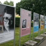 Panele przedstawiały Annę Walentynowicz nie tylko jako działaczkę, ale także przodowniczkę pracy, matkę, wolontariuszkę.