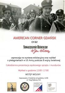 Plakat wydarzenia z Amercian Corner