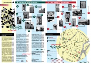 mapa stare i główne miasto zwiedzanie prekursorki działaczki