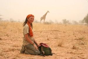 Kinga Choszcz w Afryce. Źródło