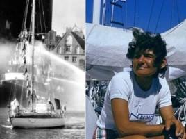 Jacht Mazurek oraz Kapitan Chojnowska. Źródło: kolosy.pl