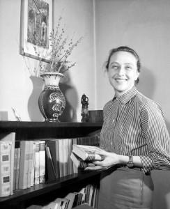 1958 Pisarka , aktorka , scenarzystka teatralna RůŅa Ostrowska  (awol) PAP/Archiwum Data dokłanie nieustalona. Źródło: Gedanopedia