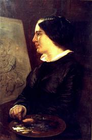 Elisabeth Jerichau Baumann, Autoportret, 1848