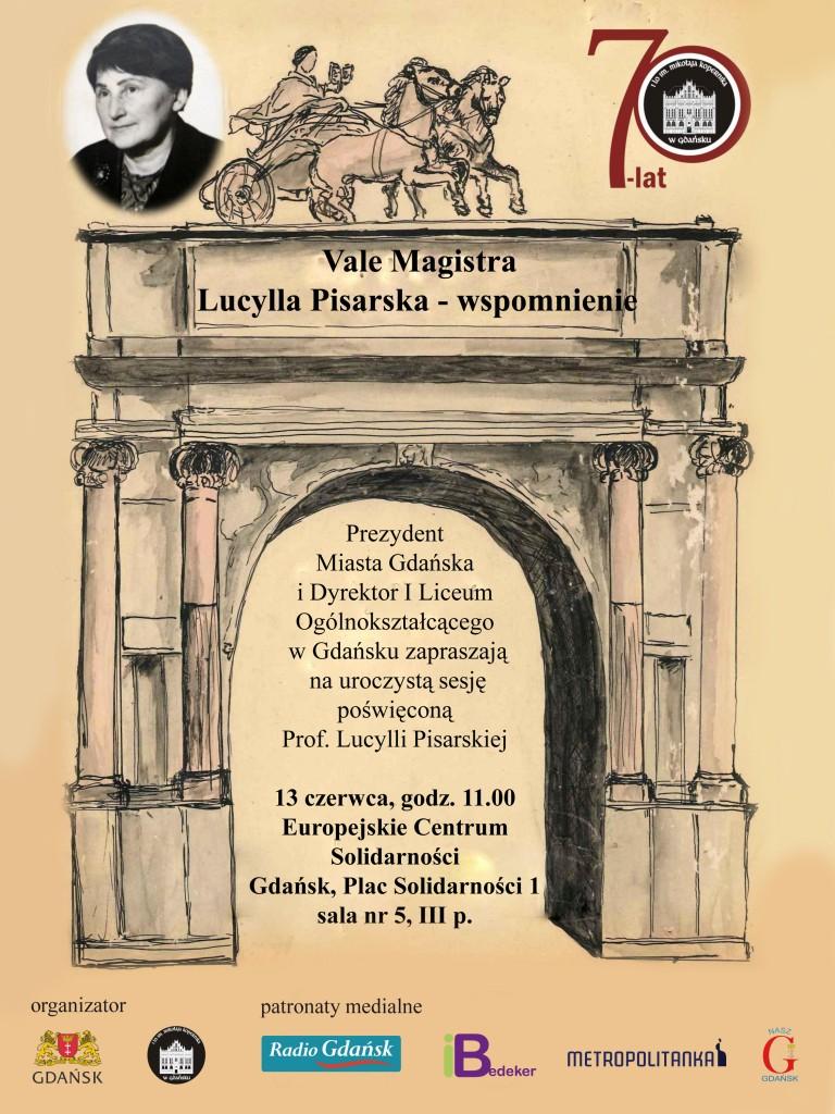 lucylla pisarska plakat I LO
