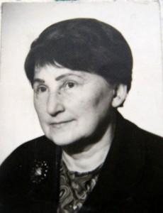 Prof. Lucylla Pisarska, fot. zbiory archiwalne I LO