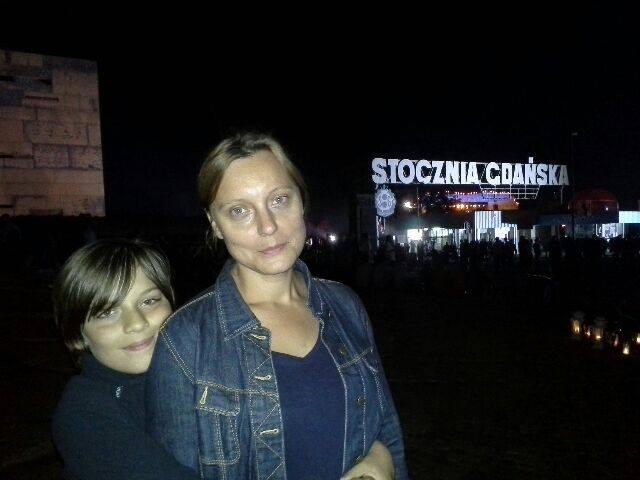 Przewodniczka - Anna Sadowska. Fot. archiwum prywatne.